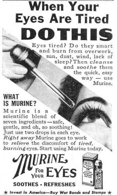MURINE LIFE 12/20/1943 p. 98