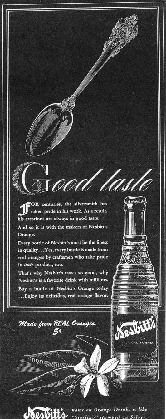 NESBITT'S ORANGE SODA LIFE 12/20/1943 p. 23