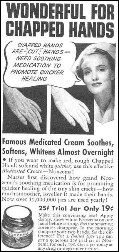 NOXEMA MEDICATED CREAM GOOD HOUSEKEEPING 03/01/1940 p. 180