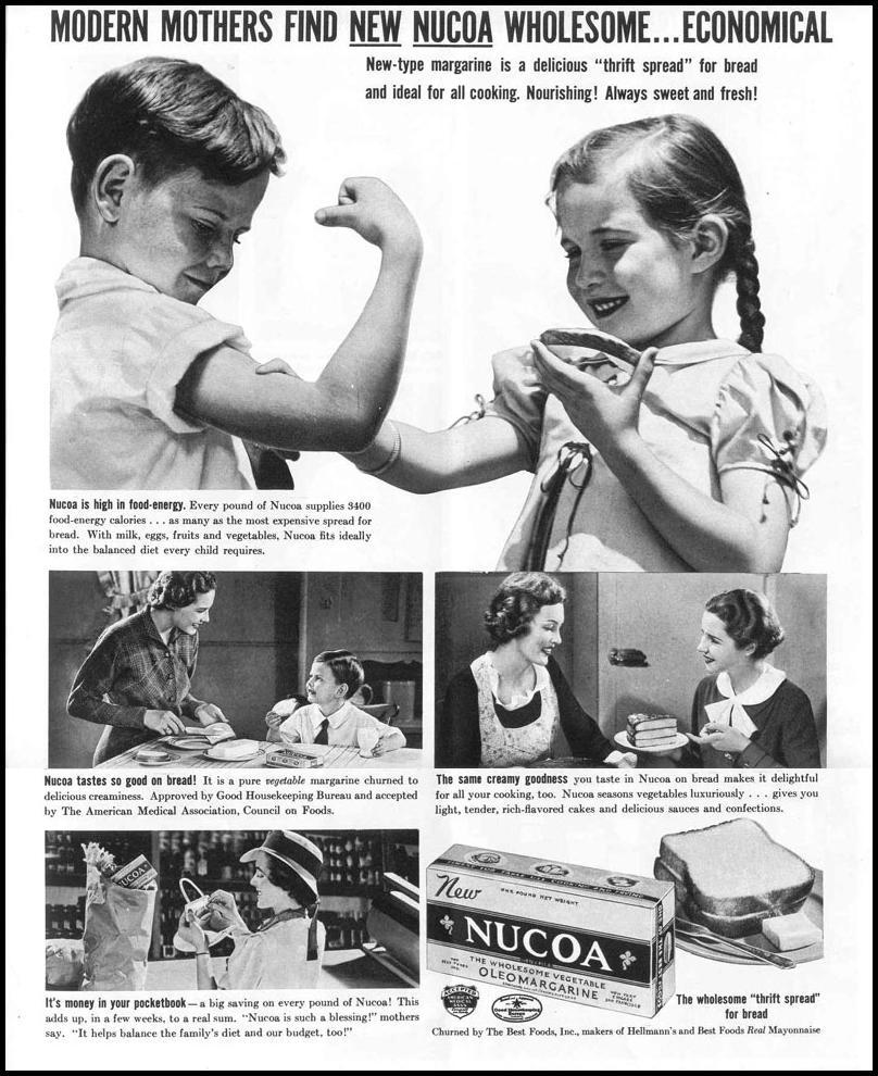 NUCOA OLEO MARGARINE LIFE 09/06/1937 p. 51