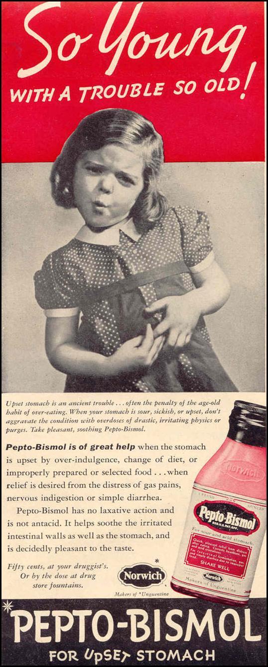 PEPTO-BISMOL LIFE 03/18/1940