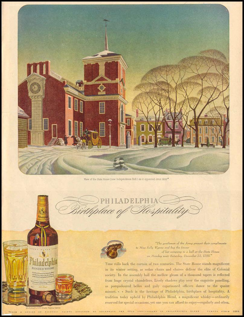 PHILADELPHIA BLENDED WHISKEY LIFE 12/20/1943 p. 103