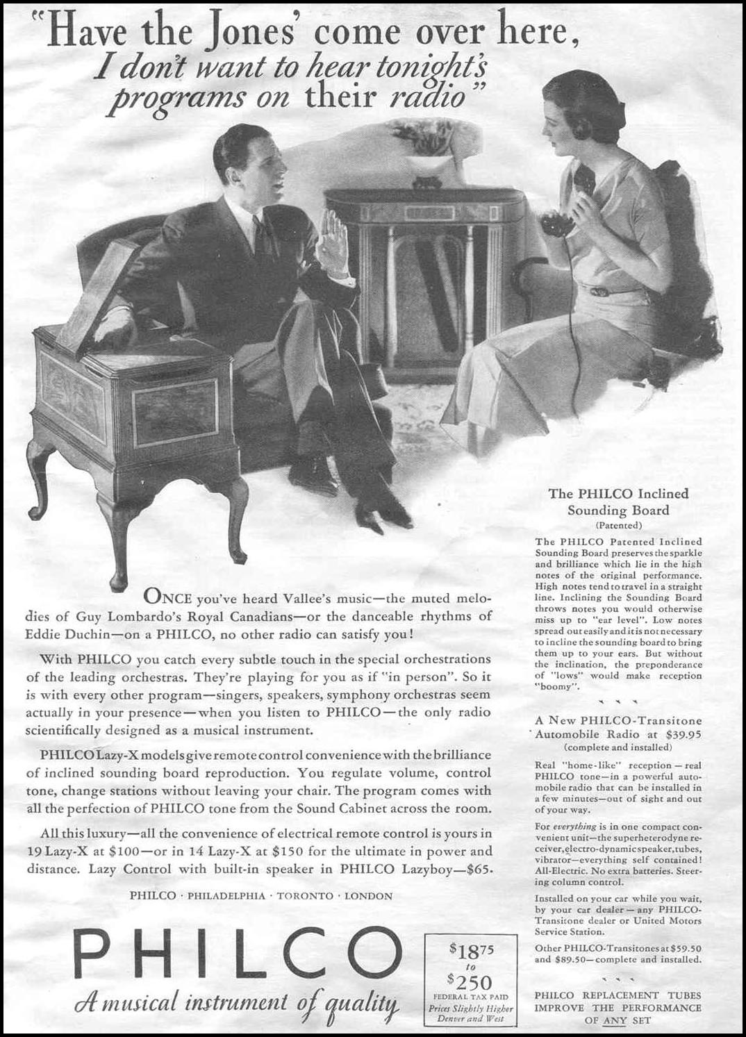 PHILCO RADIOS GOOD HOUSEKEEPING 06/01/1933 p. 5