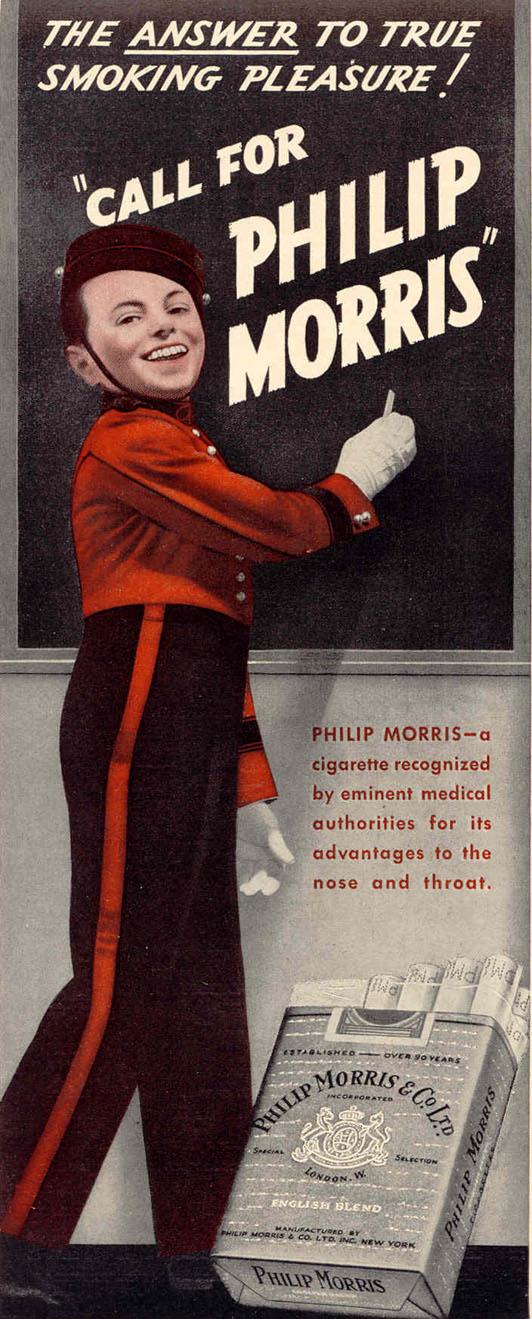 PHILIP MORRIS CIGARETTES LIFE 02/20/1939 p. 37