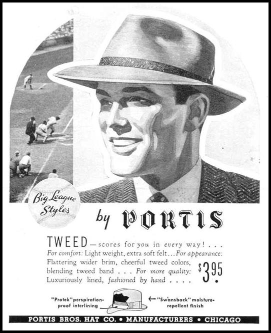 PORTIS MEN'S HATS LIFE 03/18/1940 p. 66