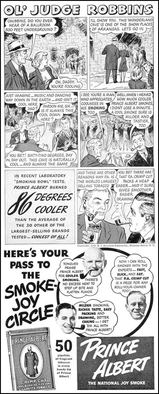 PRINCE ALBERT PIPE TOBACCO LIFE 03/18/1940 p. 99