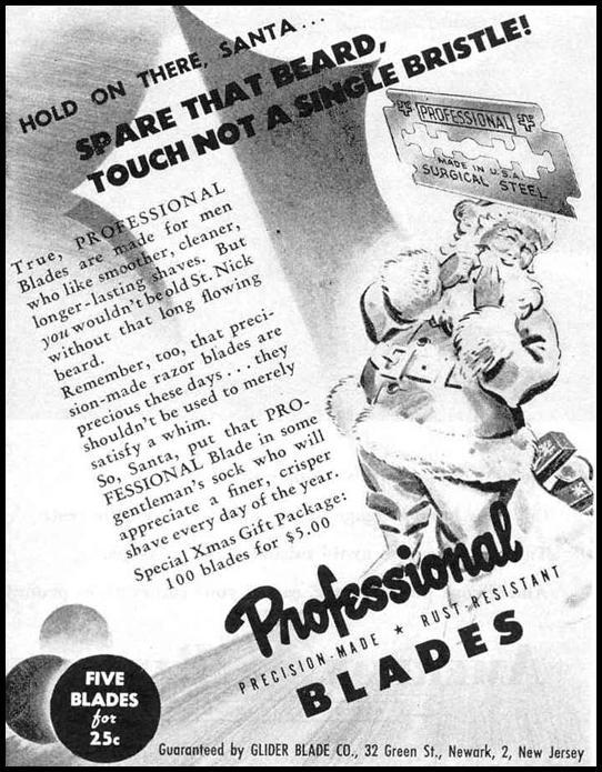 PROFESSIONAL RAZOR BLADES LIFE 12/20/1943 p. 20