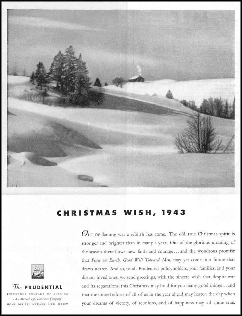 CHRISTMAS WISH 1943 LIFE 12/20/1943 p. 24