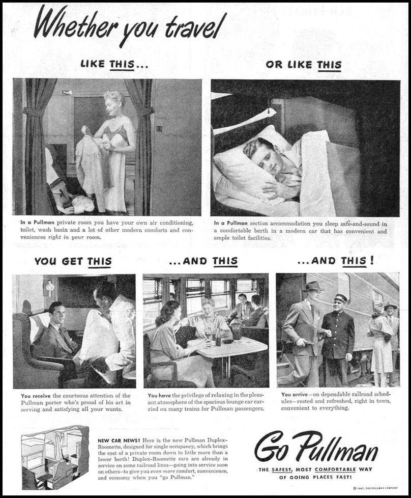 RAIL TRAVEL LIFE 10/27/1947 p. 53