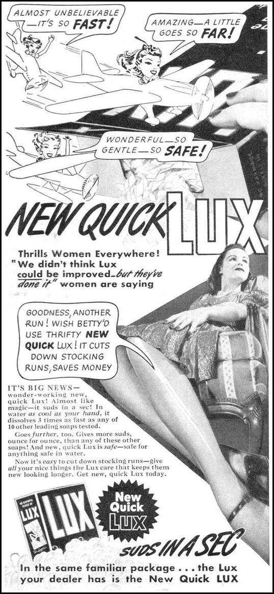 LUX SOAP GOOD HOUSEKEEPING 03/01/1940 p. 96