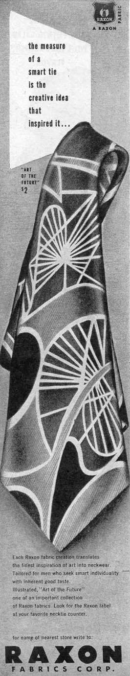 RAXON TIES LIFE 10/27/1947 p. 140