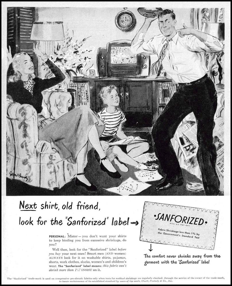 SHRINK-PROOF FABRIC LIFE 10/27/1947 p. 15