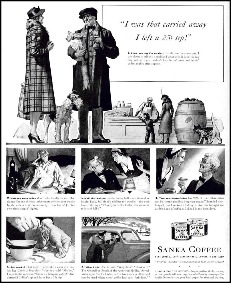 SANKA COFFEE LIFE 02/20/1939 p. 12