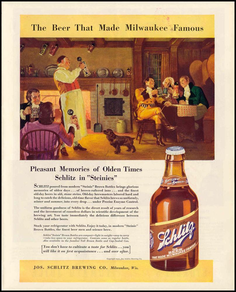 SCHLITZ BEER LIFE 09/06/1937 p. 69