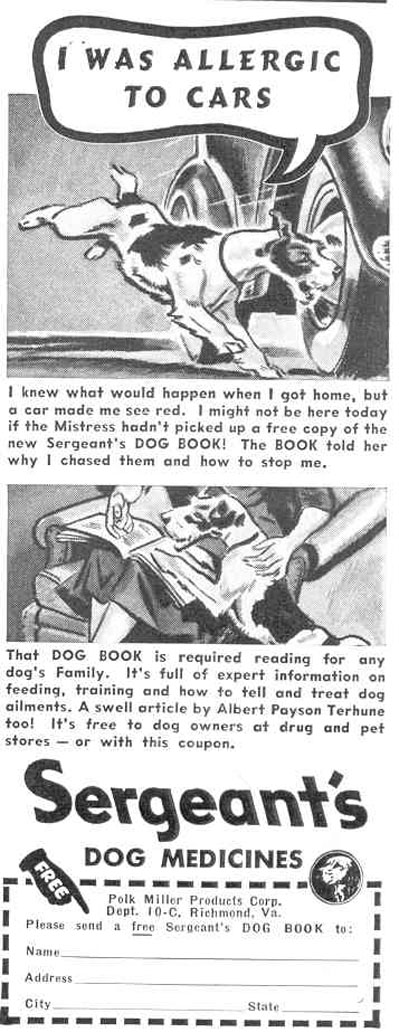 SERGEANT'S DOG MEDICINES GOOD HOUSEKEEPING 03/01/1940 p. 188