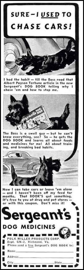 SERGEANT'S DOG MEDICINES LIFE 02/20/1939 p. 60