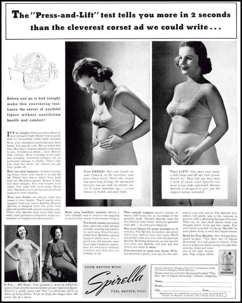 SPIRELLA CORSET LIFE 02/20/1939 p. 5