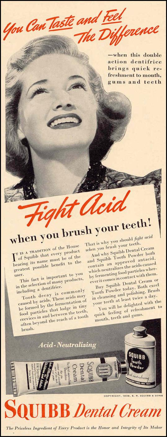 SQUIBB DENTAL CREAM LIFE 02/20/1939 p. 35