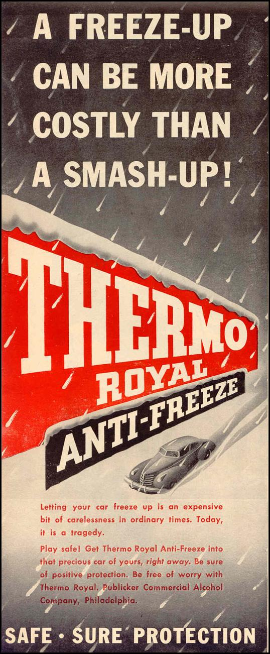 THERMO ROYAL ANTI-FREEZE LIFE 12/20/1943 p. 56