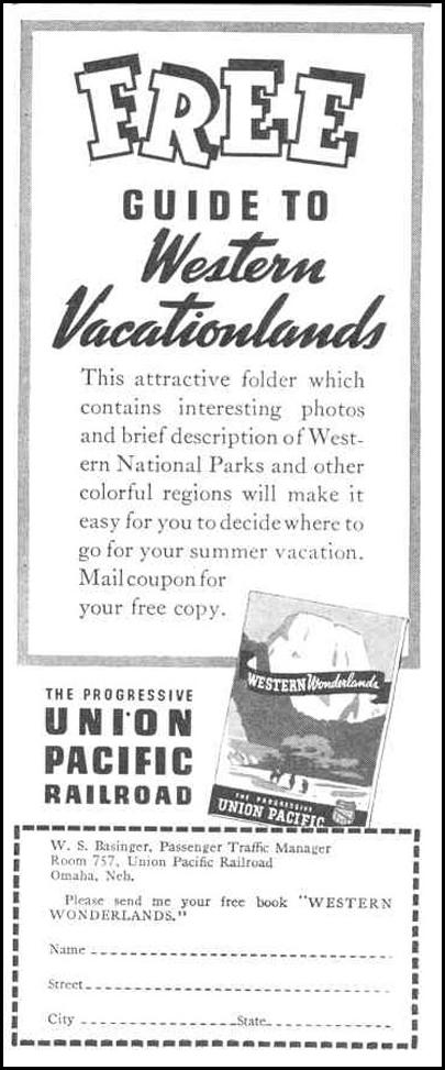 RAIL TRAVEL GOOD HOUSEKEEPING 03/01/1940 p. 172