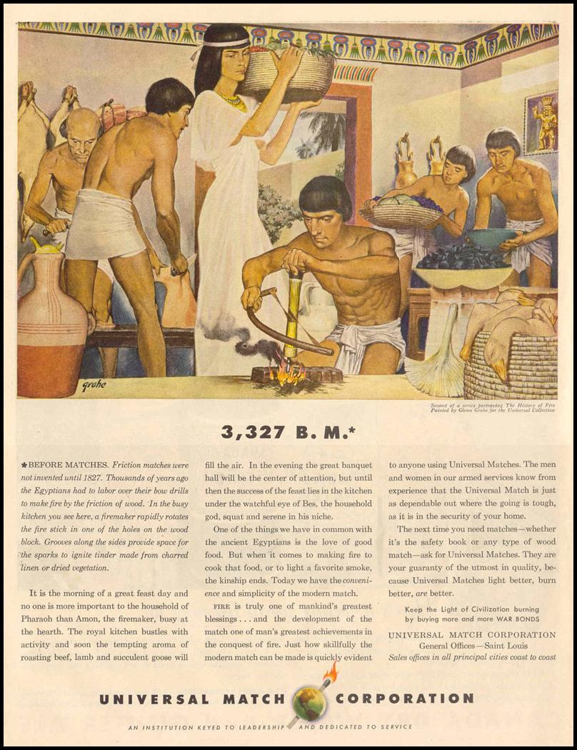 MATCHES LIFE 12/20/1943 p. 110
