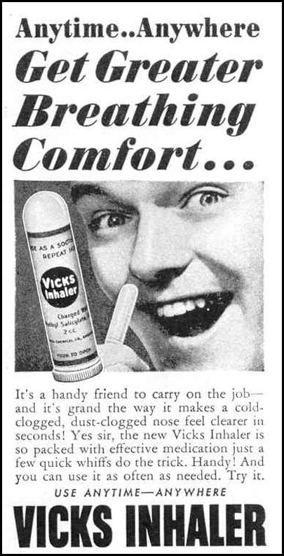 VICKS INHALER LIFE 12/20/1943 p. 84