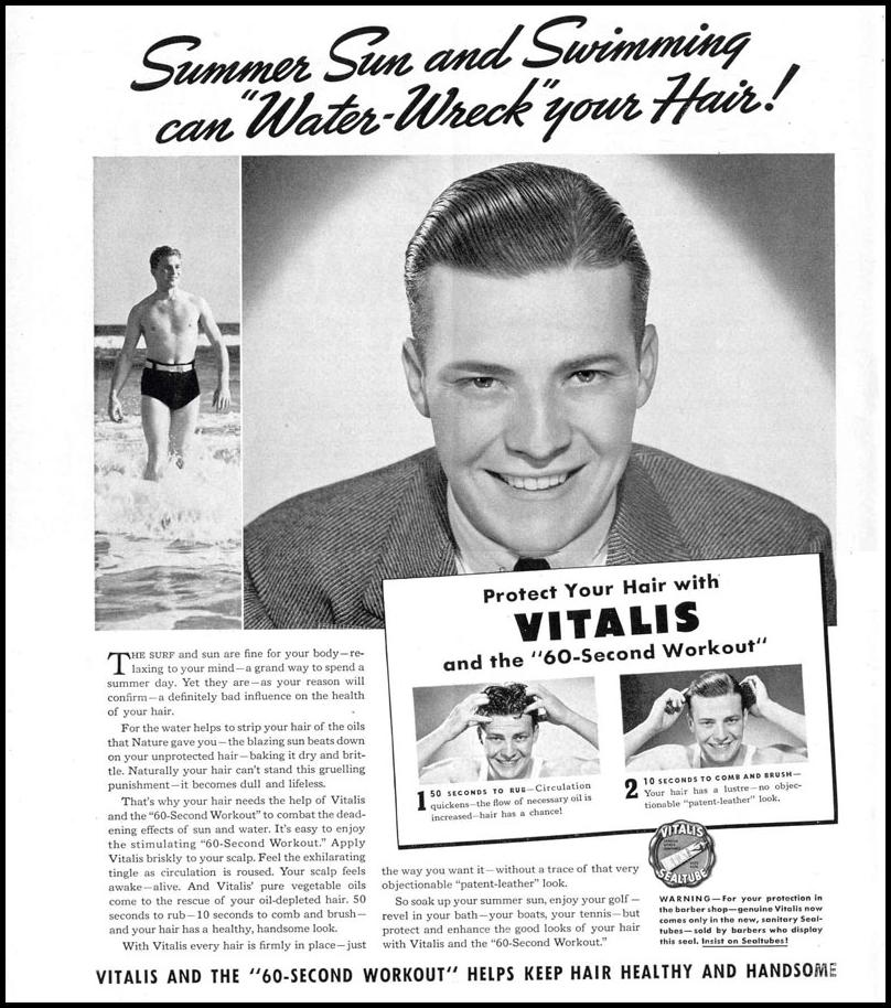 VITALIS HAIR TONIC LIFE 09/06/1937 p. 18