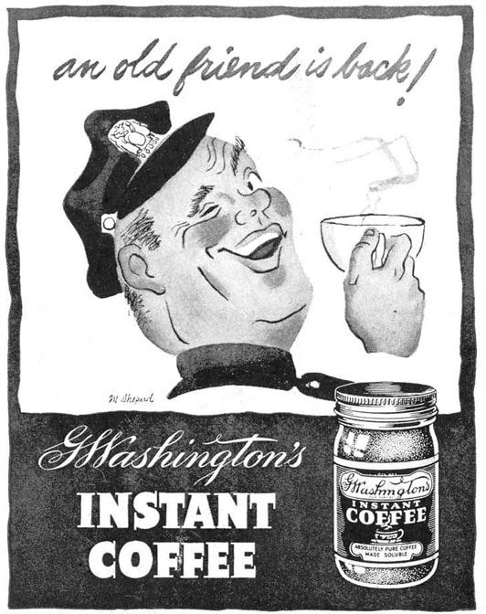 G. WASHINGTON'S INSTANT COFFEE LIFE 12/20/1943 p. 114