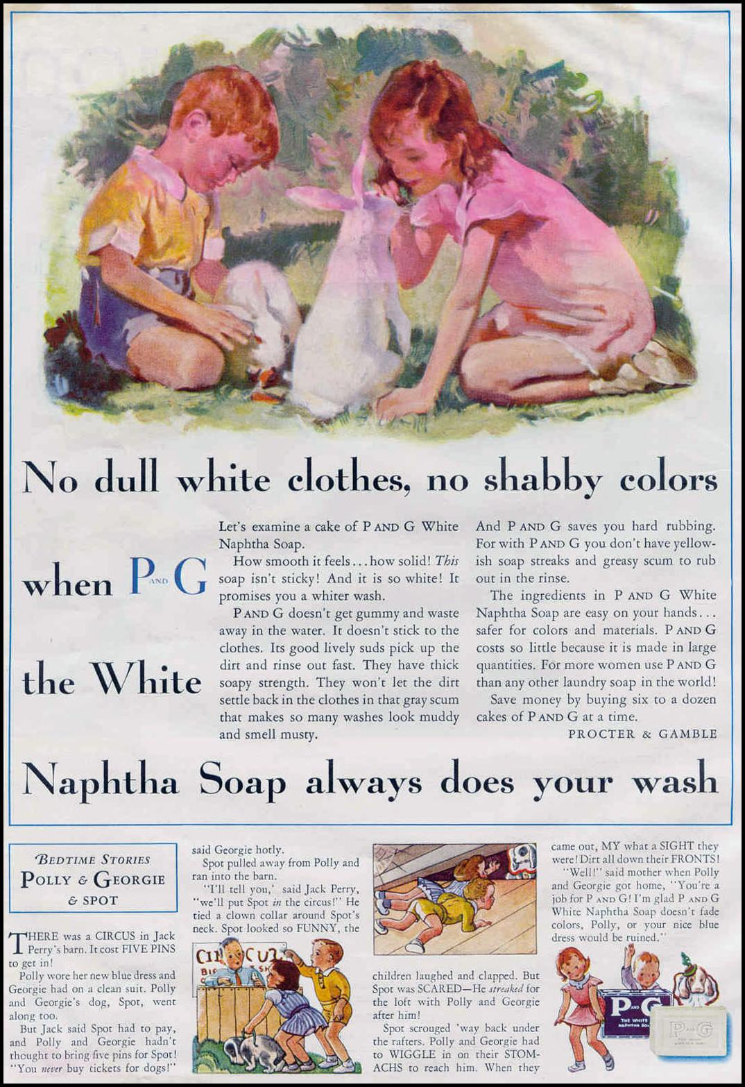 P AND G SOAP GOOD HOUSEKEEPING 06/01/1933 p. 110