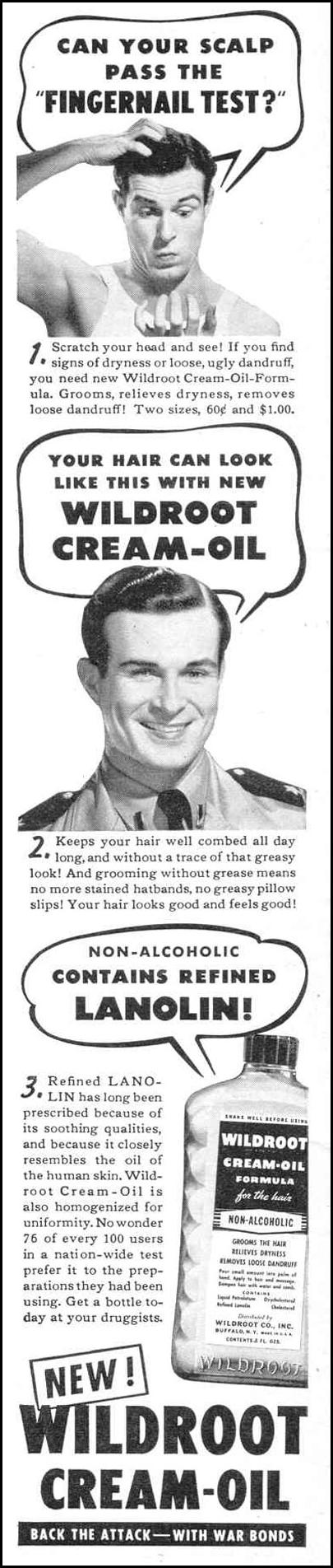 WILDROOT CREAM-OIL LIFE 11/01/1943 p. 2