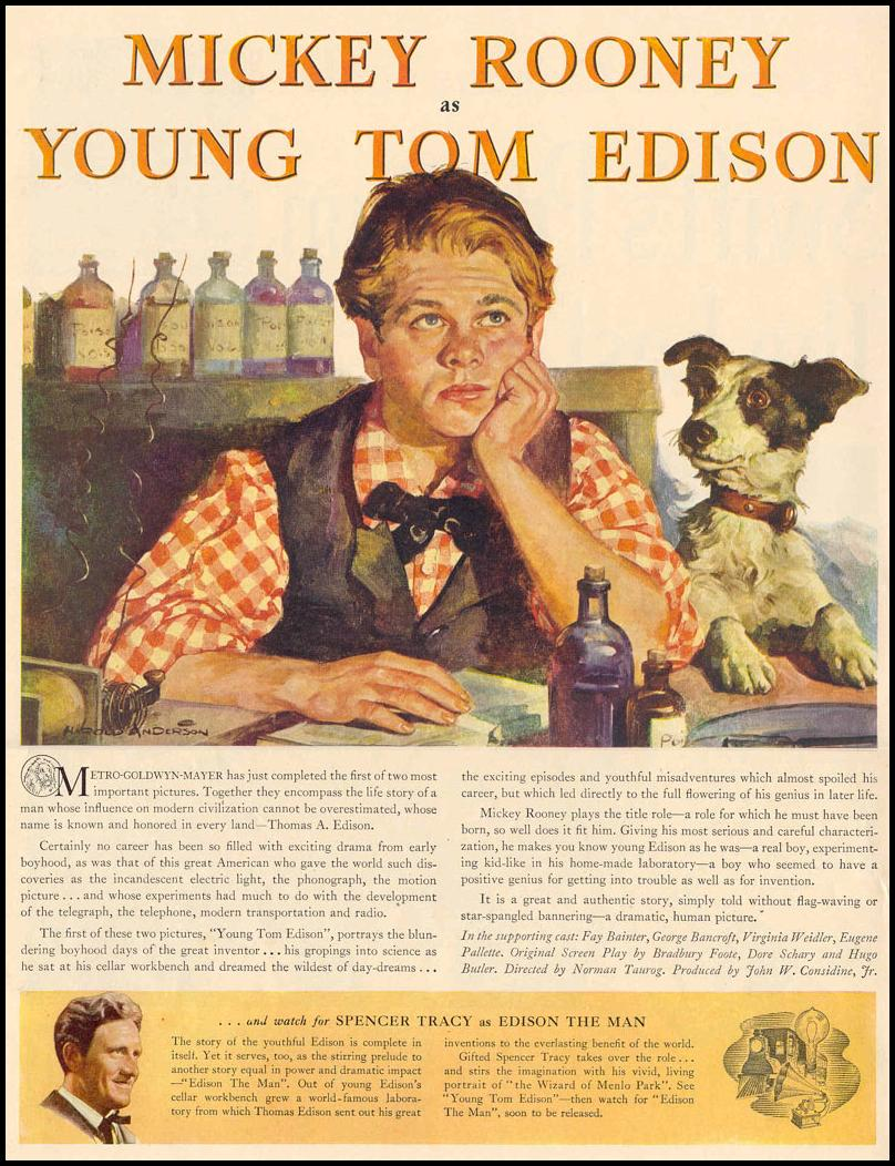 YOUNG TOM EDISON LIFE 03/18/1940 p. 46