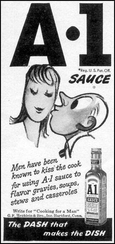 A. 1. SAUCE WOMAN'S DAY 02/01/1947 p. 70