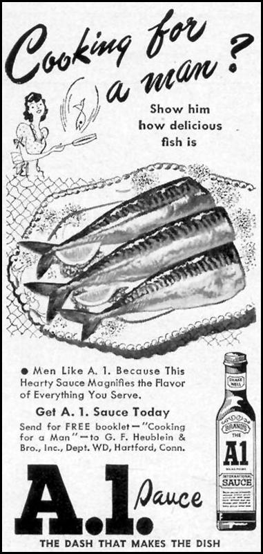 A. 1. SAUCE WOMAN'S DAY 03/01/1949 p. 120