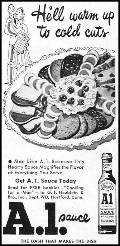 A. 1. SAUCE WOMAN'S DAY 04/01/1949 p. 108