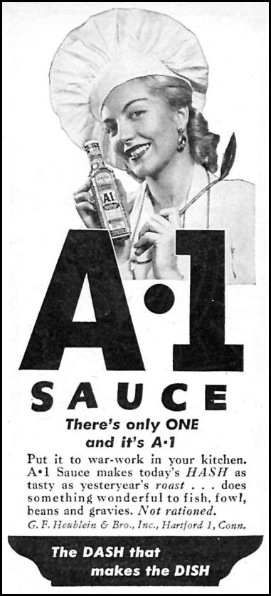 A. 1. SAUCE WOMAN'S DAY 09/01/1945 p. 83