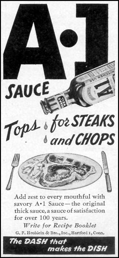 A. 1. SAUCE WOMAN'S DAY 09/01/1946 p. 75