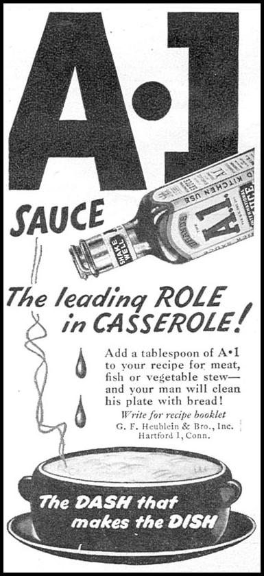 A. 1. SAUCE WOMAN'S DAY 10/01/1946 p. 109