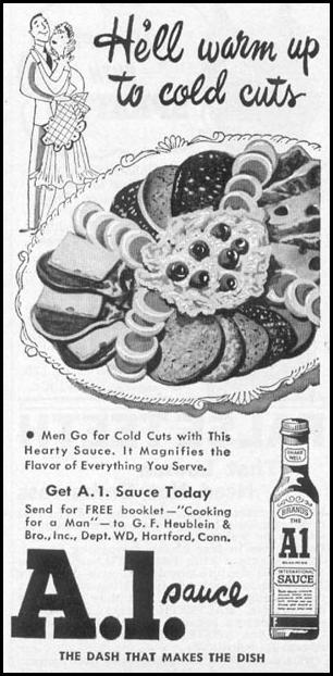 A. 1. SAUCE WOMAN'S DAY 10/01/1949 p. 147
