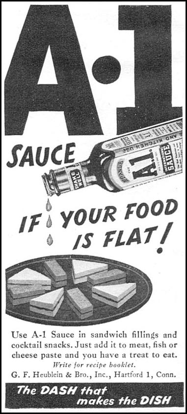 A. 1. SAUCE WOMAN'S DAY 11/01/1946 p. 90