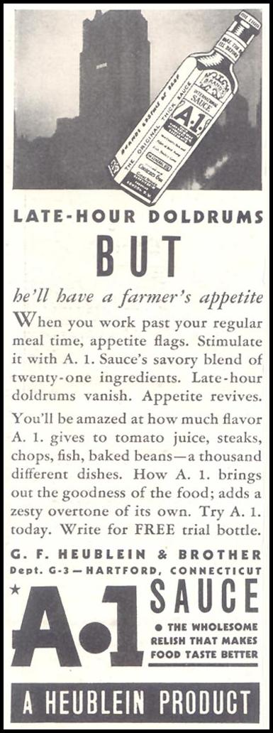 A. 1. SAUCE GOOD HOUSEKEEPING 03/01/1935 p. 218