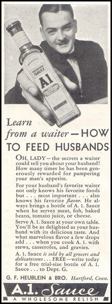 A. 1. SAUCE GOOD HOUSEKEEPING 11/01/1933 p. 210