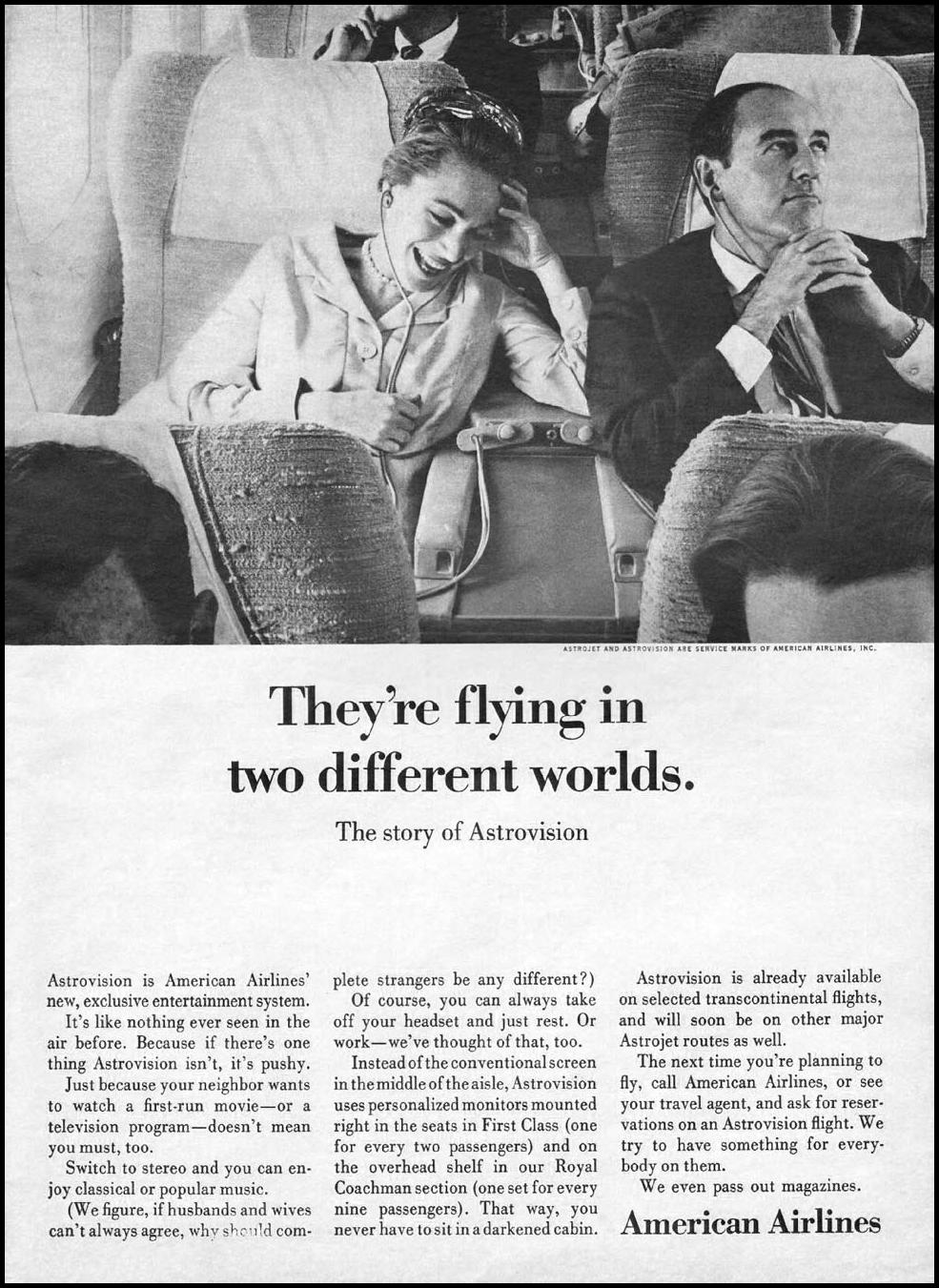 ASTROVISION ENTERTAINMENT SYSTEM NEWSWEEK 10/12/1964