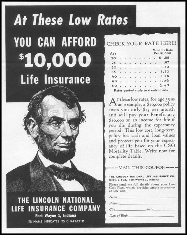 LIFE INSURANCE LIFE 10/13/1952 p. 169