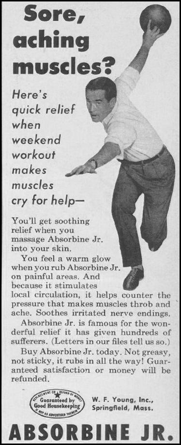 ABSORBINE JR. LOOK 10/29/1957 p. 134