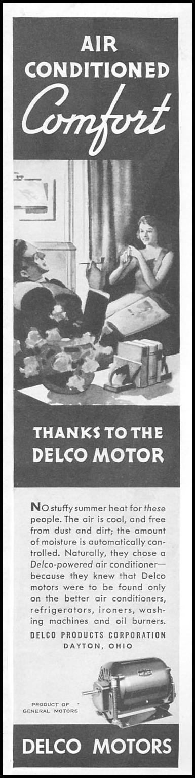 DELCO MOTORS GOOD HOUSEKEEPING 06/01/1935 p. 159