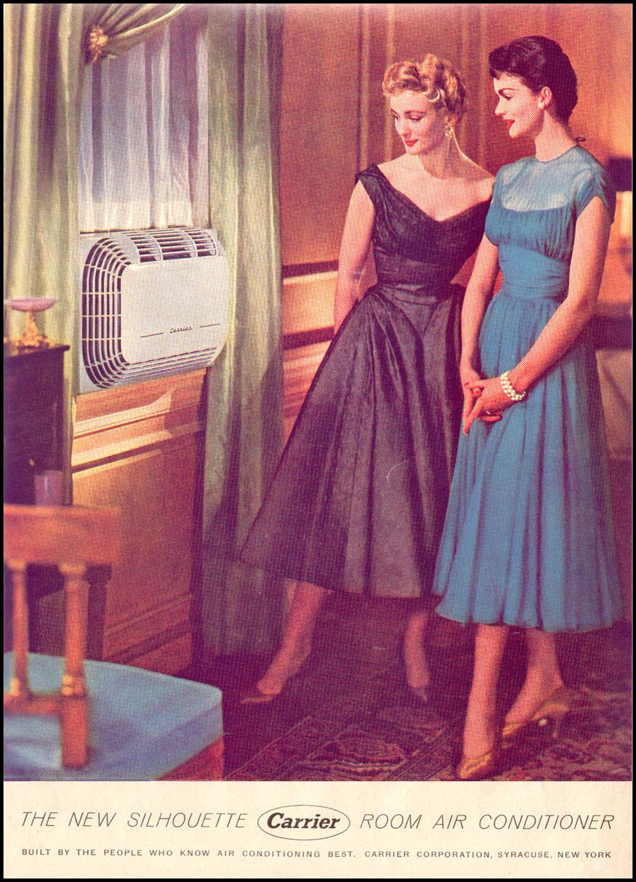SILHOUETTE ROOM AIR CONDITIONER LIFE 07/12/1954 p. 55