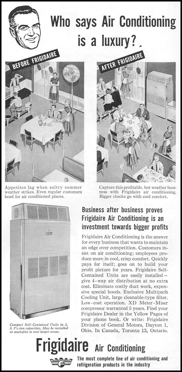 FRIGIDAIRE AIR CONDITIONING TIME 06/08/1953 p. 81