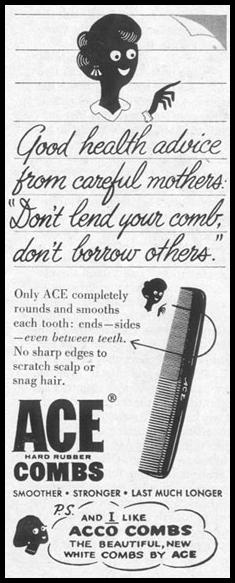 ACE HARD RUBBER COMBS LIFE 02/02/1959 p. 96