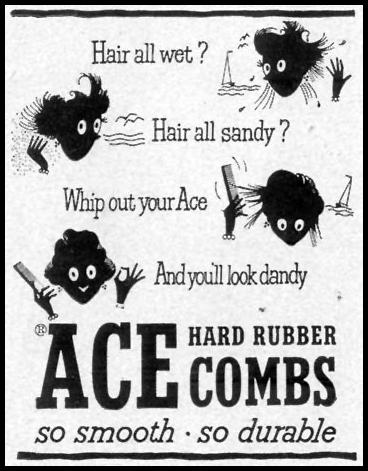 ACE HARD RUBBER COMBS LIFE 07/30/1951 p. 30