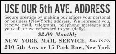 MAIL SERVICE NEWSWEEK 05/04/1935 p. 39